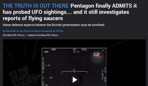 Les vidéos d'ovnis du Pentagone
