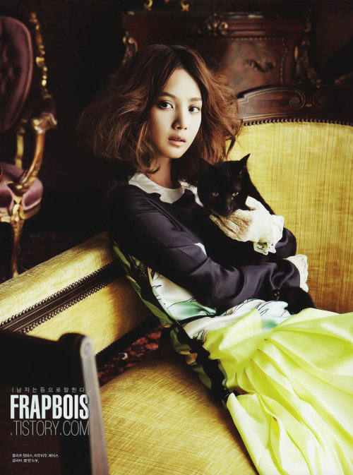 Yoon Seung Ah - Elle Girl Magazine June Issue '11