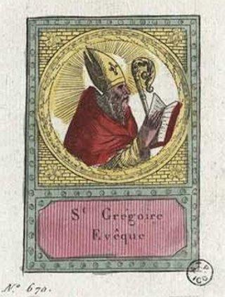 Saint Grégoire de Tours Evêque († 595)