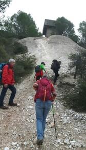 De Salelles par le tunnel de Rabieux on fini vers le Salagou ..