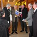 Mars 2009 : visite à Déville de H. Görtz, nouveau Maire de Bargteheide