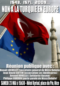 europe turquie fly
