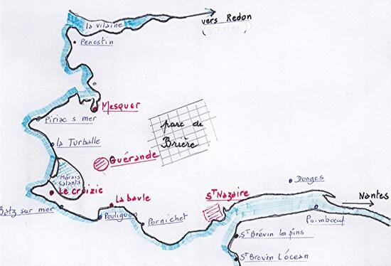 La Brière et sa côte