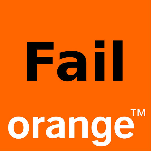 Orange Fail
