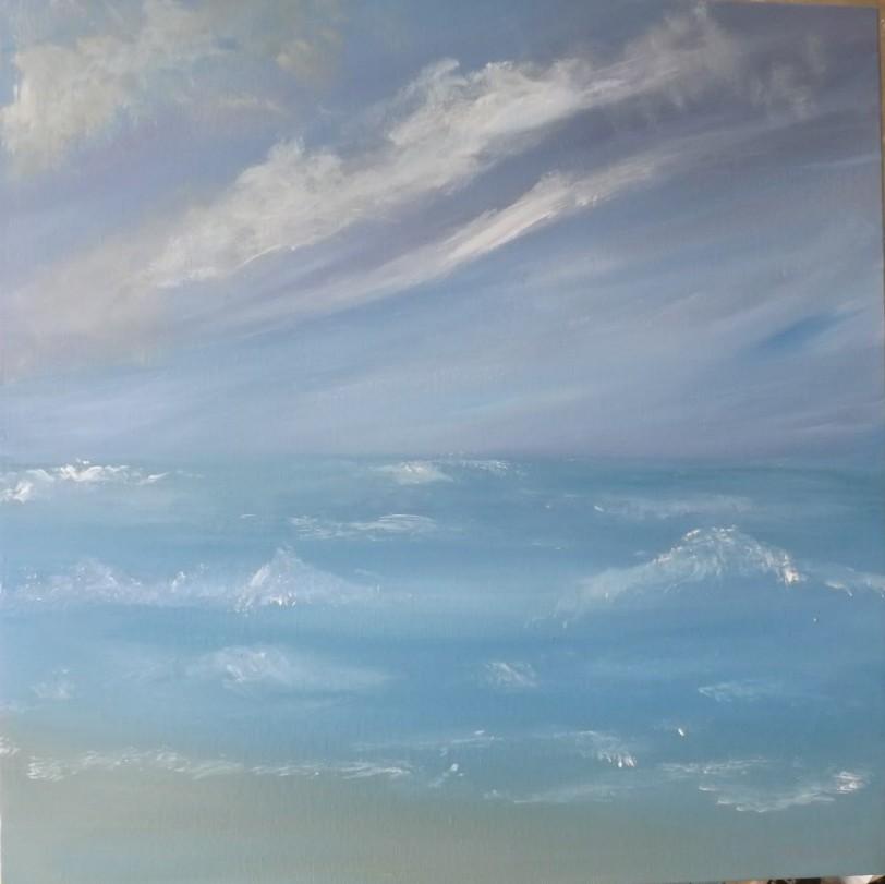 Peinture Une marine