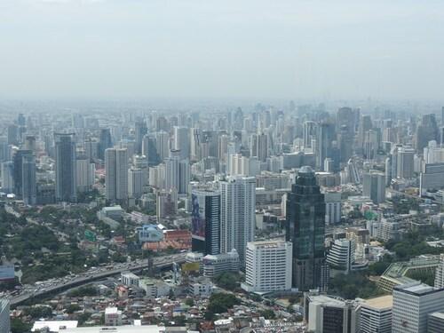 06 Août 2013 - Bangkok vue panoramique...