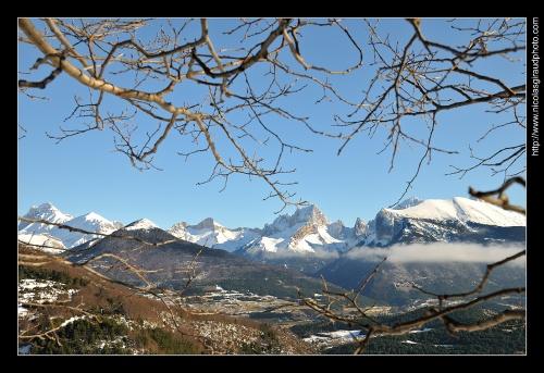 Magie hivernale au Massif du Dévoluy