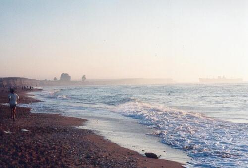 La mer en acrostiche par Amélie et par Alan