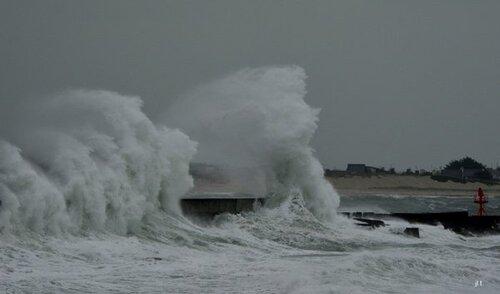Les grandes marées sur la côte atlantique