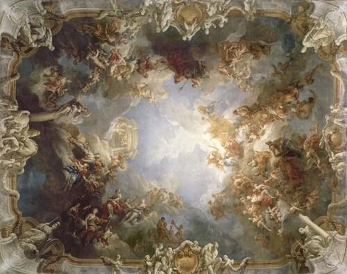 Le salon d'Hercule...