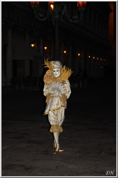 Venise 2013, les costumés