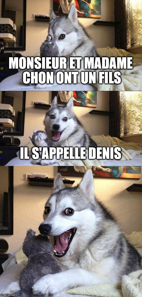 Monsieur et Madame Chon...