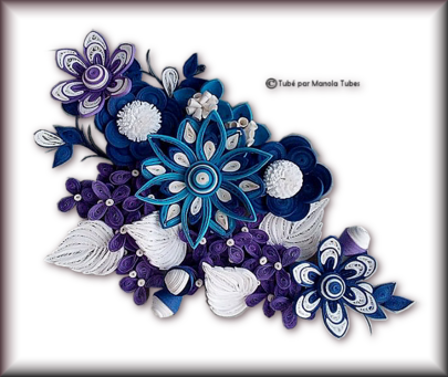 Tubes Quilling Arts floral 2987