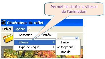 REFLET - ANIMATION EFFET VAGUE REFLETS DANS L'EAU