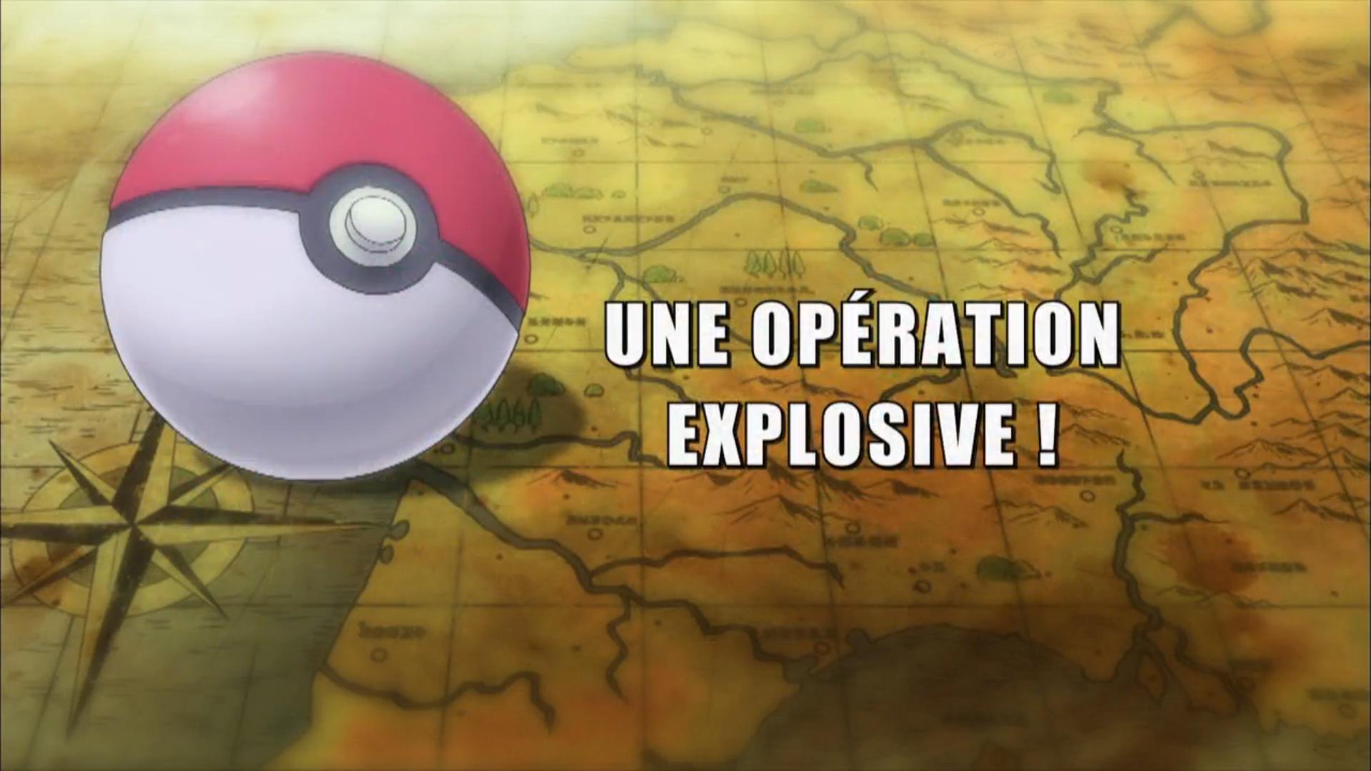 Pokémon - 19x14 - Une opération explosive !