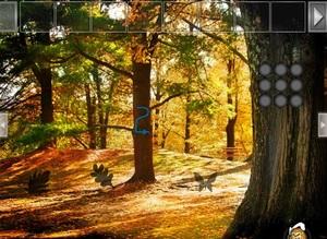 Jouer à Easy Thanksgiving forest escape