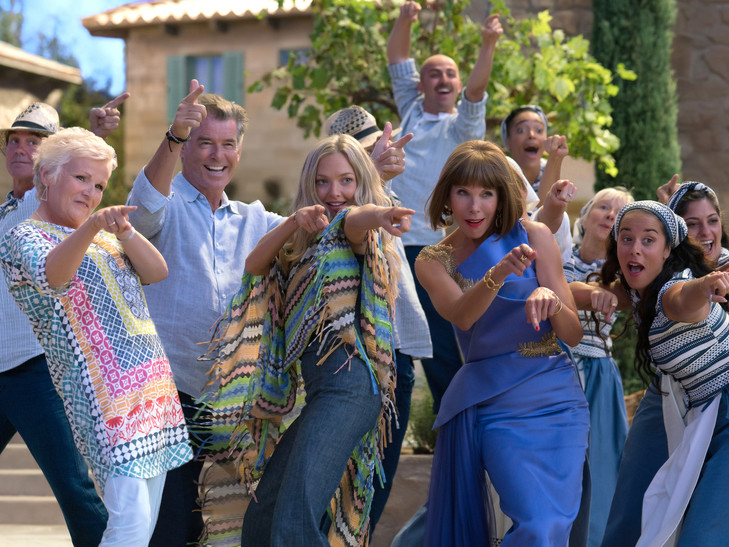 MAMMA MIA : HERE WE COME AGAIN !!!