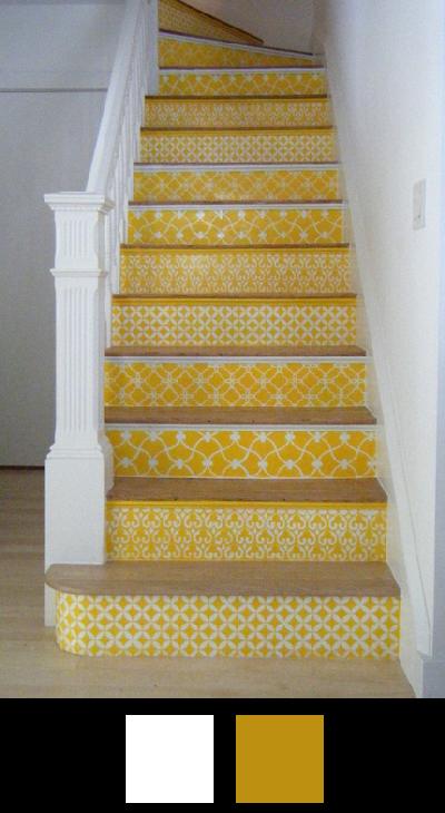Les escaliers - Nuancier 9