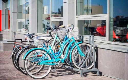 Les garages à vélos