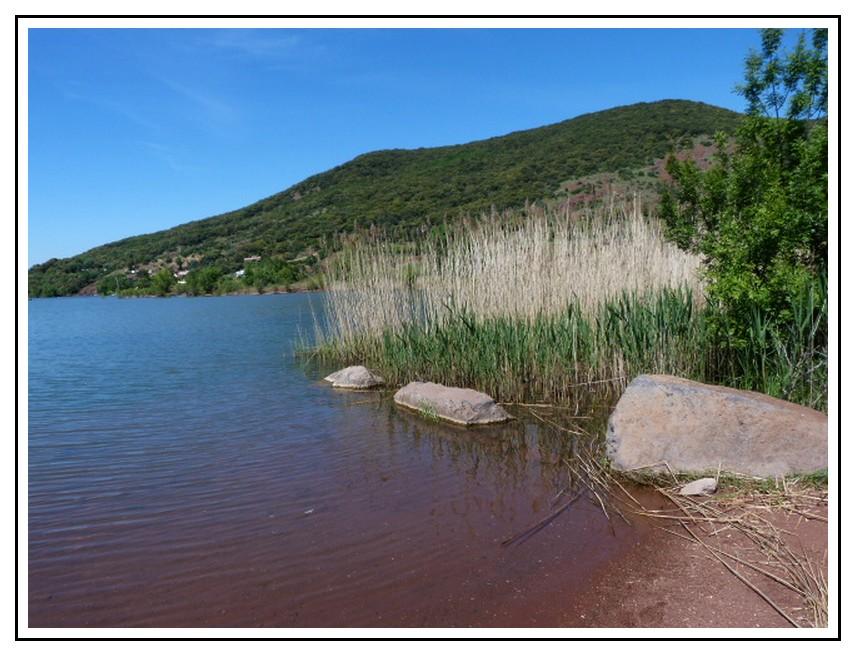 CELLES  : site classée en vallée du Salagou