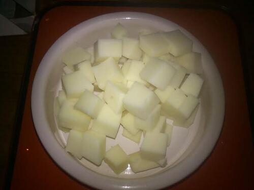 Risotto carottes/poivron et fromage de brebis