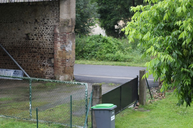 Rivière en crue en face de chez moi