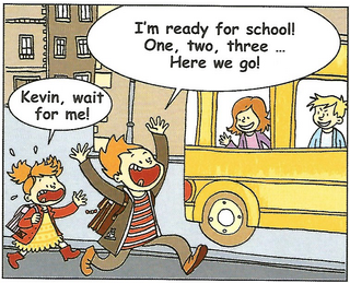 Are you ready for school? (Comic strip)