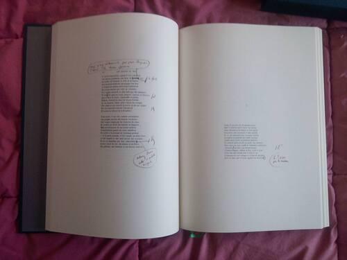Les fleurs du mal, le manuscrit, Charles Baudelaire