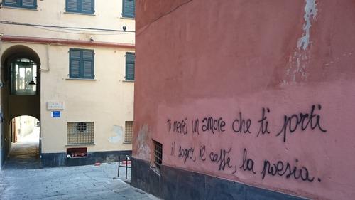 Calendrier de l'Avent: jour 4, poésie de rue