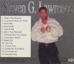 STEVEN. G. LAWRENCE - FAVORITE DAY (1996)