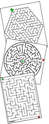 Des labyrinthes