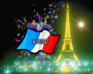 Le 14 juillet Fête nationale française