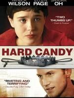 Hard Candy ( Dur a croquer ) : Hayley et Jeff se sont connus sur Internet. Elle est une très belle adolescente de 14 ans, et lui un séduisant photographe trentenaire. C'est elle qui a suggéré d'aller chez lui pour être plus tranquille, elle qui a voulu qu'il prenne quelques photos, elle qui leur a servi à boire et a commencé à retirer ses vêtements...  Lorsqu'il se réveille, Jeff est ligoté et Hayley retourne tout chez lui. Elle a des questions à lui poser, et elle est décidée à obtenir des réponses. Elle sait qu'elle n'est pas la première adolescente à venir chez Jeff, elle veut découvrir ce qu'est devenue Donna Mauer.Sur le net, elle a également appris comment on pouvait jouer avec un bistouri, et elle meurt d'envie d'essayer... ----- ...  Origine : Américain  Réalisation : David Slade  Durée : 1h 43min  Acteur(s) : Patrick Wilson, Ellen Page, Sandra Oh  Genre : Drame, Thriller  Date de sortie : 27 septembre 2006  Année de production : 2005  Titre original : Hard Candy  Titre québécois : Dur à croquer  Distributeur : Metropolitan FilmExport  Critiques Spectateurs : 3,3  Critiques presse : 3,2