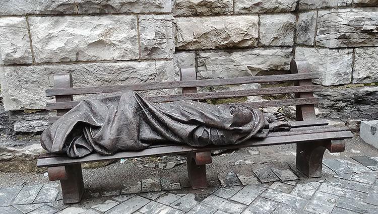 Jesus Homelessness