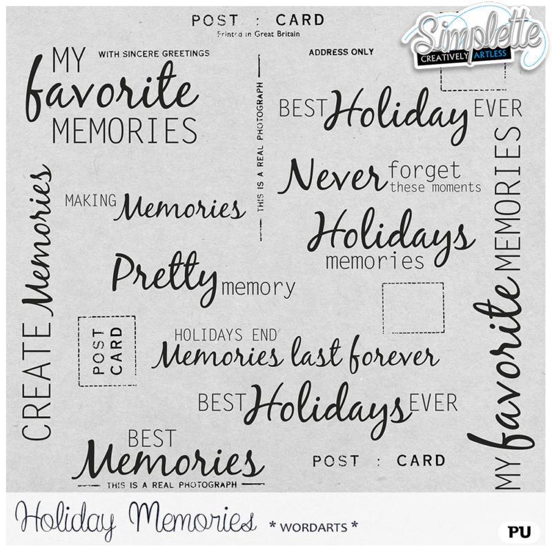 31 août : Holiday Memories Simpl450