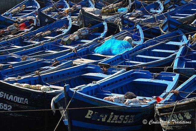 Maroc....Essaouira port de pêche