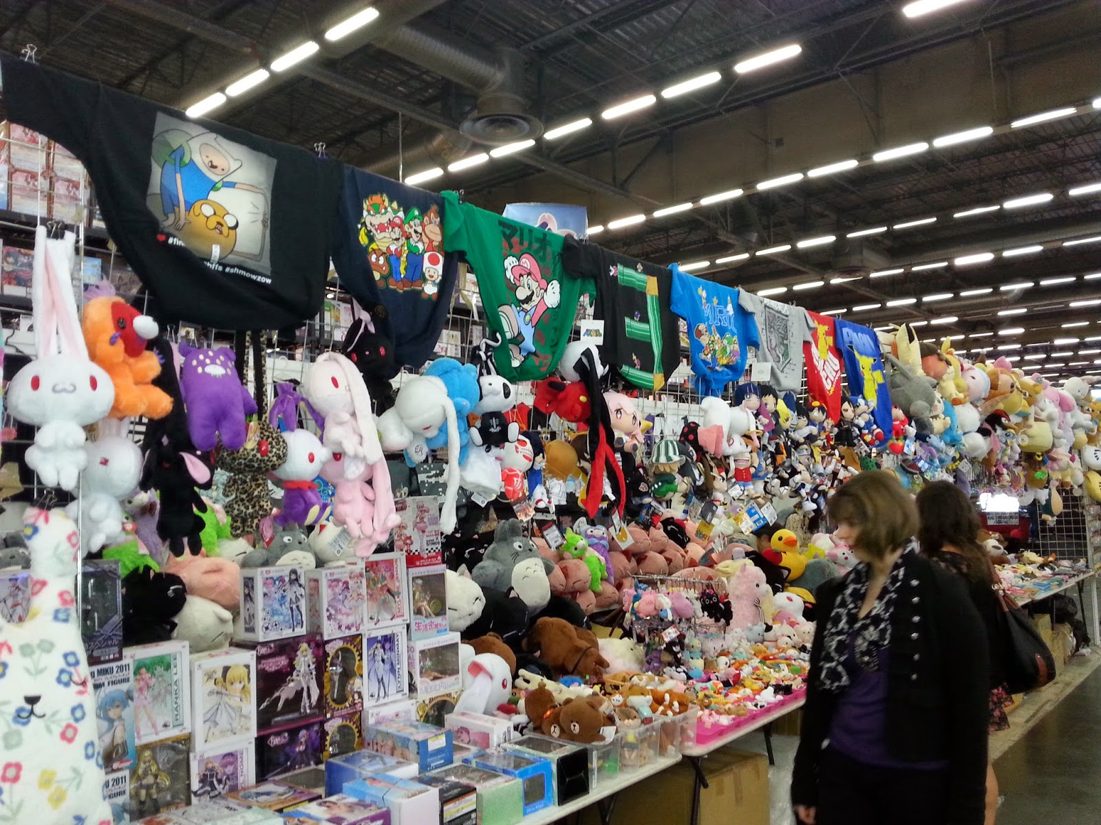 Japan Expo Les Stands : Japan expo 2015 niji ♪