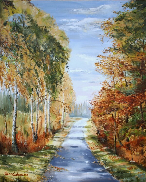 Peinture de : Pierre Labrousse