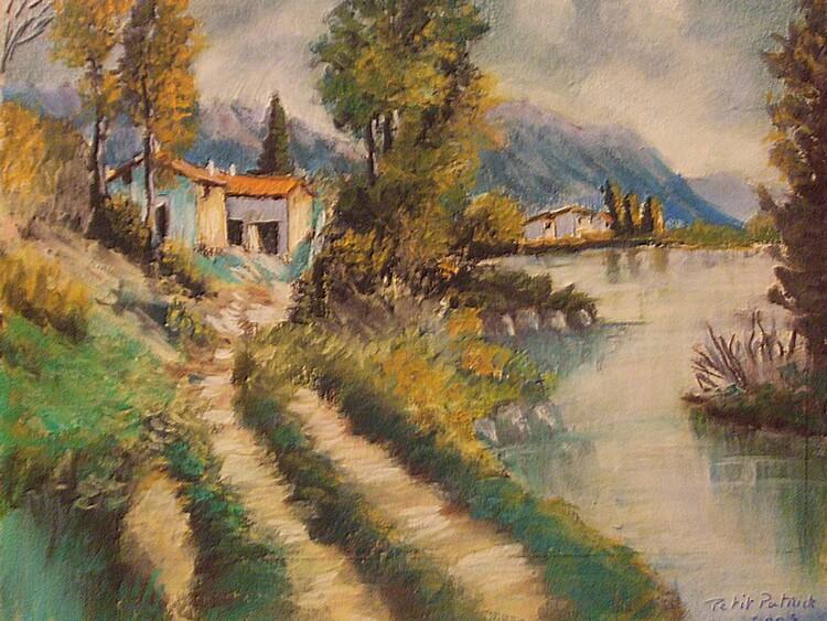 La maison au bord de la riviere