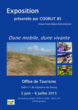 Dune mobile, dune vivante (exposition).