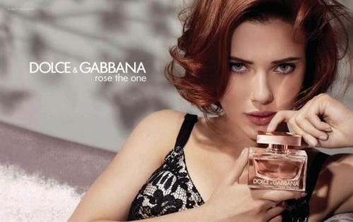 Scarlett pour Dolce & Gabanna ...