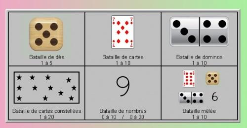 NC nombres et calculs : jeux en ligne
