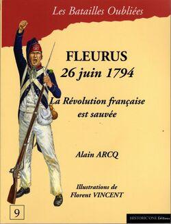 """Couverture """"Fleurus 1794"""""""