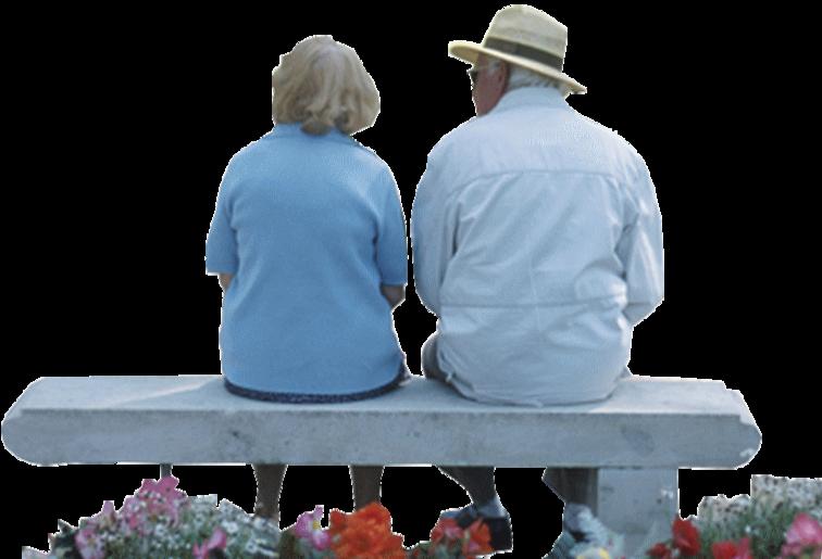 """Résultat de recherche d'images pour """"Couple d'amoureux âgés dans les tons de bleu Tubes"""""""