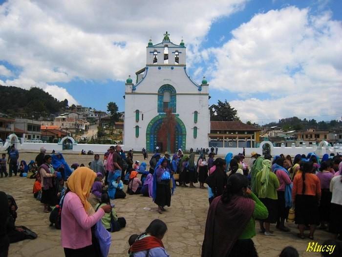 Mexique Chiapas eglise-de-San-Juan-Chamula