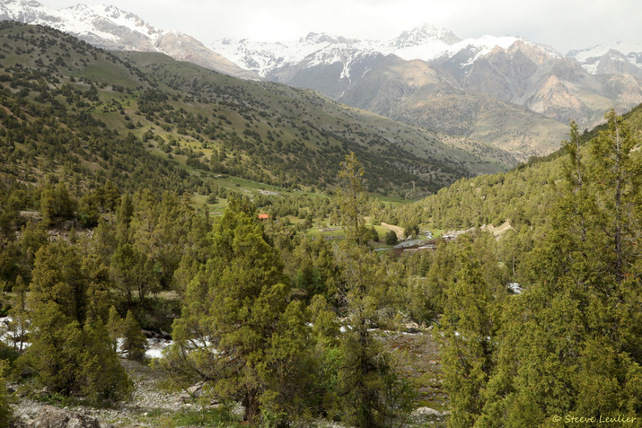 Le lac Guitara et ses environs, Tadjikistan