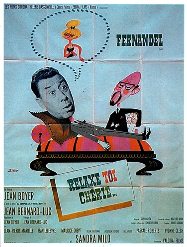 RELAXE TOI CHERIE - BOX OFFICE FERNANDEL 1964
