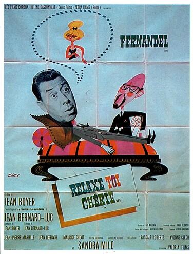 RELAXE TOI CHERIE - BOX OFFICE FERNANDEL 1964