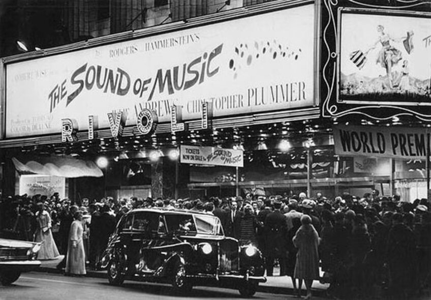 THE SOUND OF MUSIC BOX OFFICE USA 1965