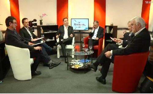 Premier débat télévisé sur les municipales avec Olivier Prigent